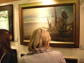 Admiring the Bateman...