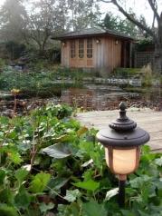 Galiano Inn water garden