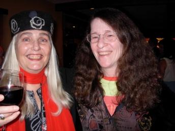 Mona Fertig (left) and Kim Goldberg
