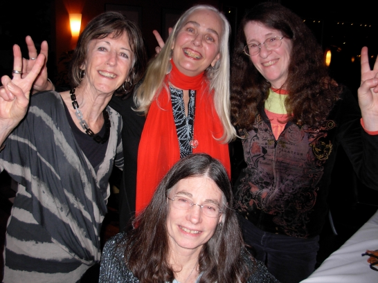 Pauline Holdstock, Mona Fertig, Kim Goldberg, Christina Johnson-Dean