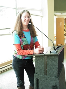 Kim Goldberg, Poem Gallery Coordinator & emcee