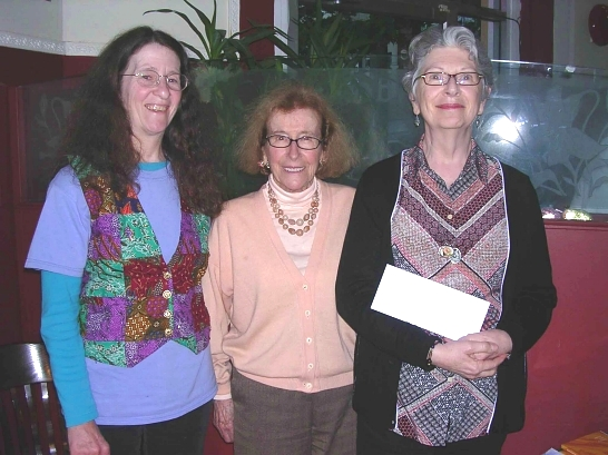 Kim Goldberg, Winona Baker, Mary Ann Moore