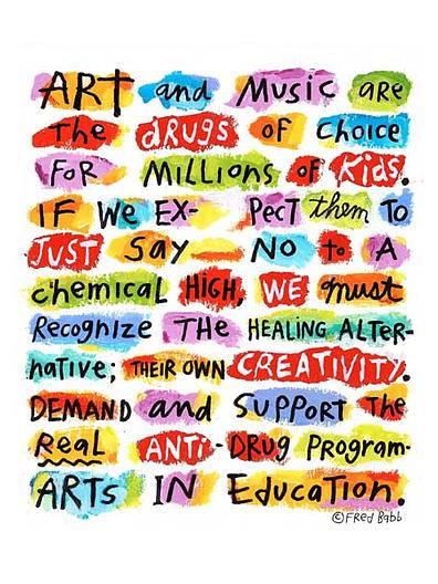 Art&MusicAreTheDrugsOfChoice