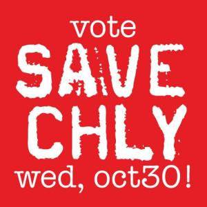Save CHLY logo