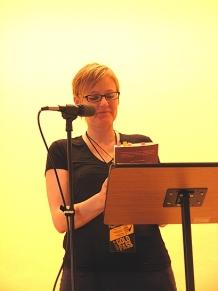 Yvonne Blomer (Photo © Kim Goldberg)