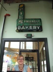 Yvonne Blomer at High Five Pies. (Photo © Kim Goldberg)