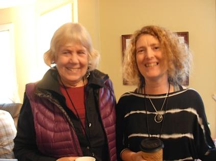 Marilyn Stablein & Danika Dinsmore (photo © Kim Goldberg)