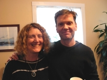 Danika Dinsmore & Chris Fink-Jensen (photo © Kim Goldberg)