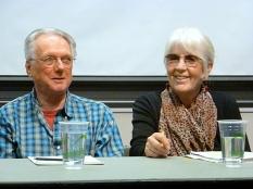 George Stanley & Joanne Kyger (Photo © Linda Crosfield)