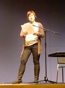 Linda Russo (photo by Linda Crosfield)