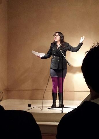 Sarah Brickman at the AfterParty (photo by Danika Dinsmore)