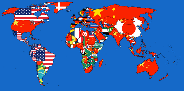 Who Imports the Most From Whom Map